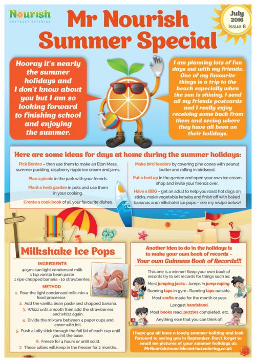 summer newsletter ideas holliddays co
