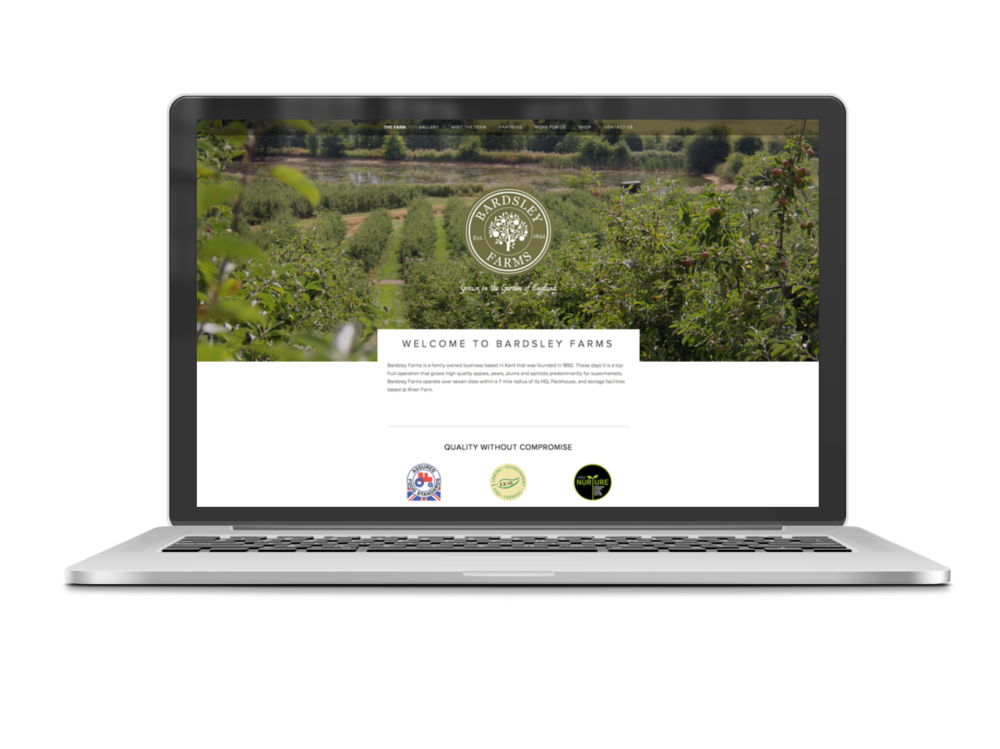 Bardsley farms Website 1