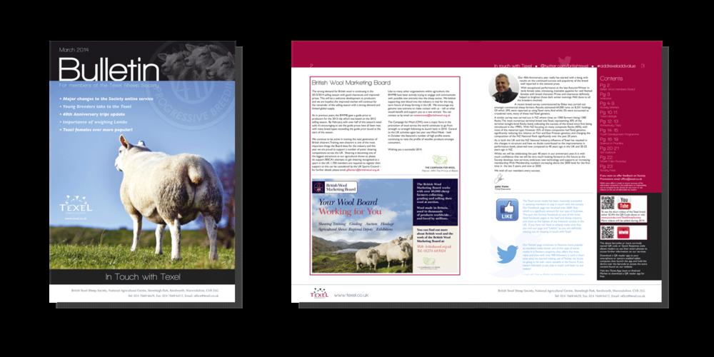 Texel Bulletin cover