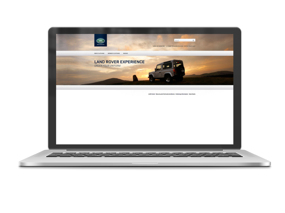 Land Rover Home Page