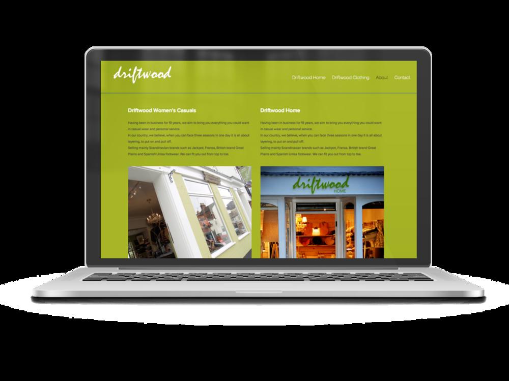Driftwood homepage