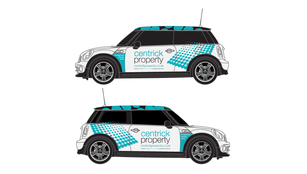 Centrick Property Vehicle Graphics