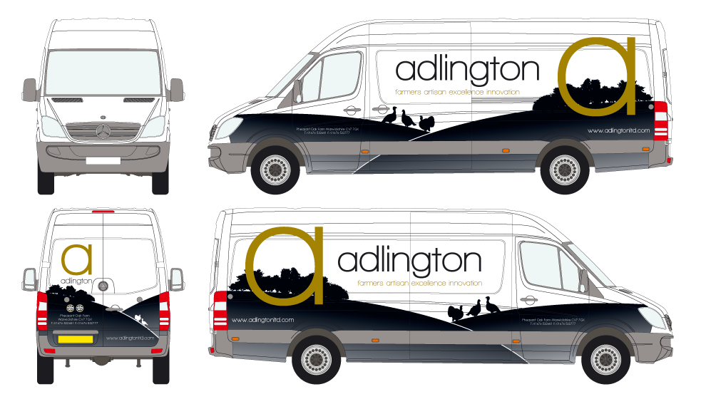 Addlington Turkey Vehicle Graphics