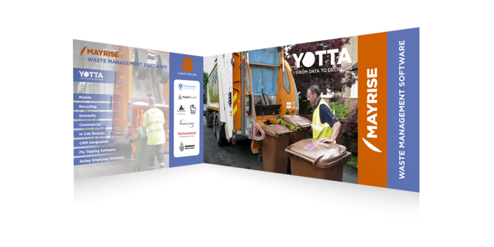 Yotta Exhibition Graphics