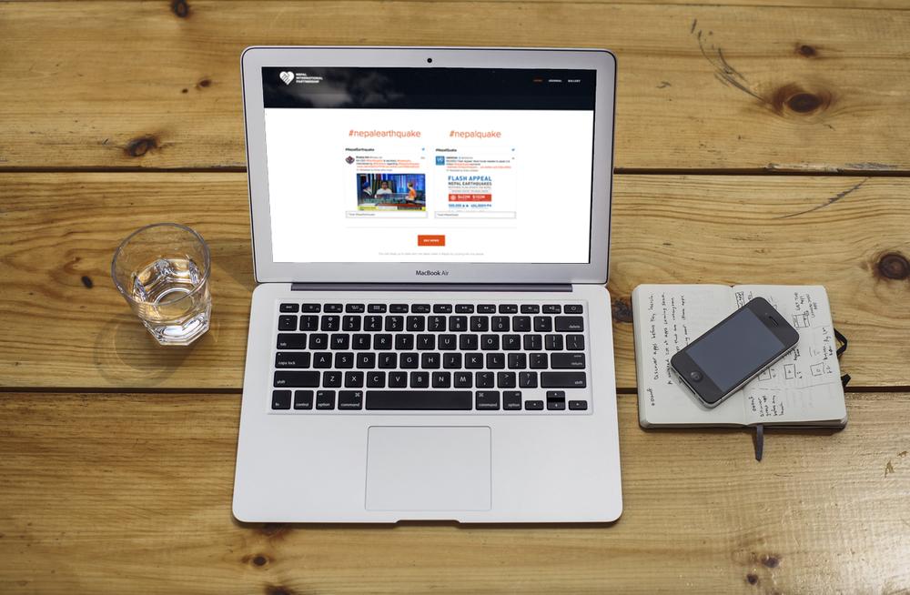 Nepal Website Design Charity Free
