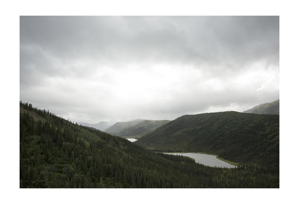 Triple Lakes Trail. Denali National Park, Alaska.