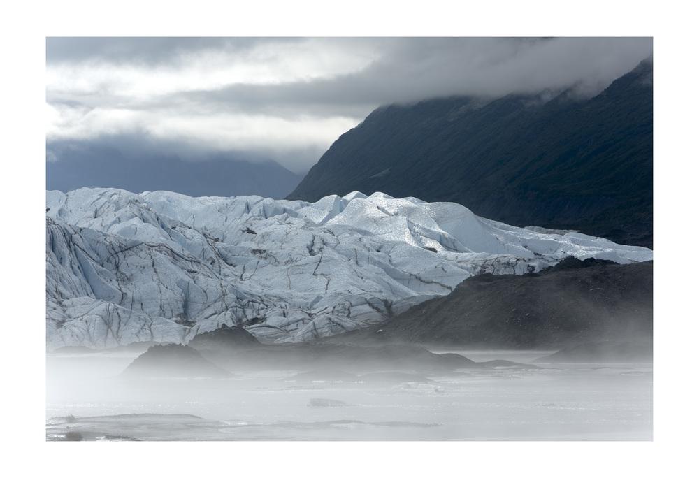 Matanuska Glacier. Glacier View, Alaska.