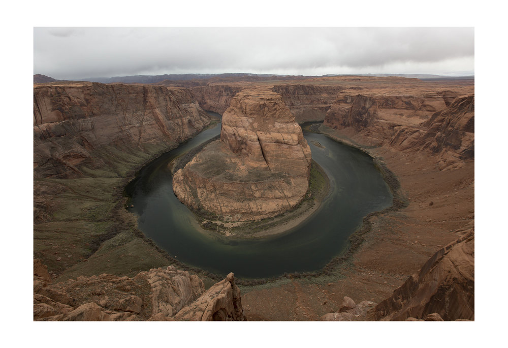 Colorado River. Horseshoe Bend, Arizona.