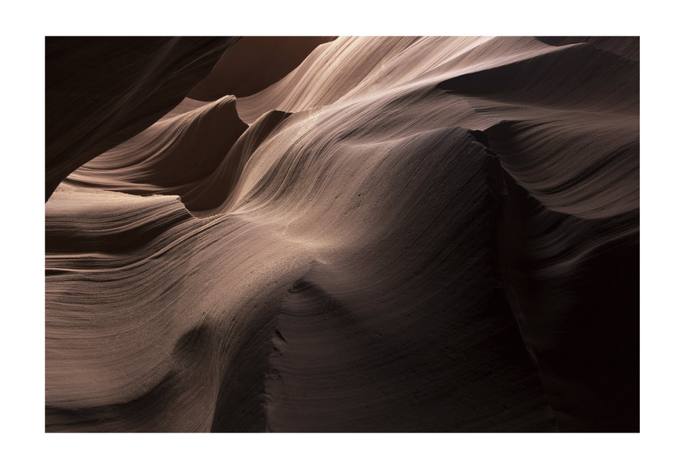 Lower Antelope Canyon. Page, Arizona.