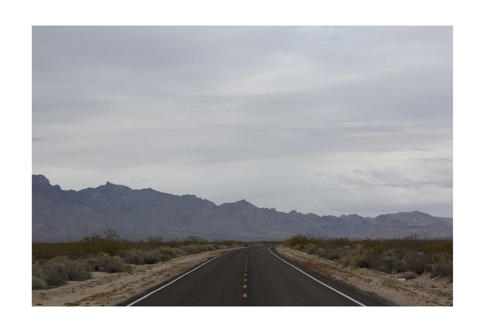 Mojave Desert. California.