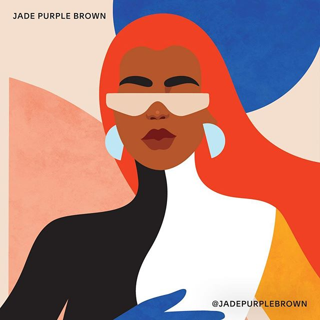 """Deciding to quit my day job and pursue my dreams full time was a major milestone for me in 2018. Now I'm focused on becoming a stronger artist by getting out of my comfort zone."" -@jadepurplebrown, who uses #Squarespace to sell and market her artwork. #SQSP"
