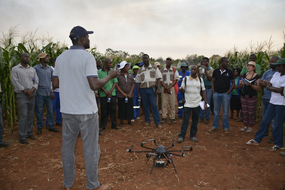 Development of new training programs - There is a great need for training for agricultural scientists in many parts of the world, from basic genetics to advanced statistics to use of new tools such as remote sensing equipment. We work with our partners to design new effective training programs and to bring lecturers to teach these courses.