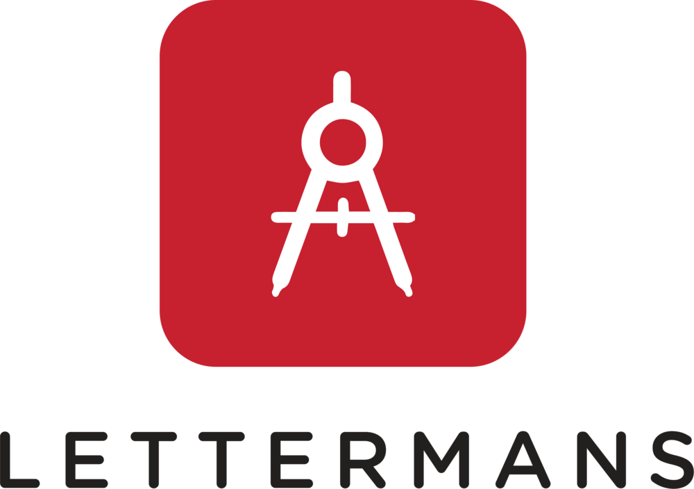 Lettermans Logo (Stacked White Background).png