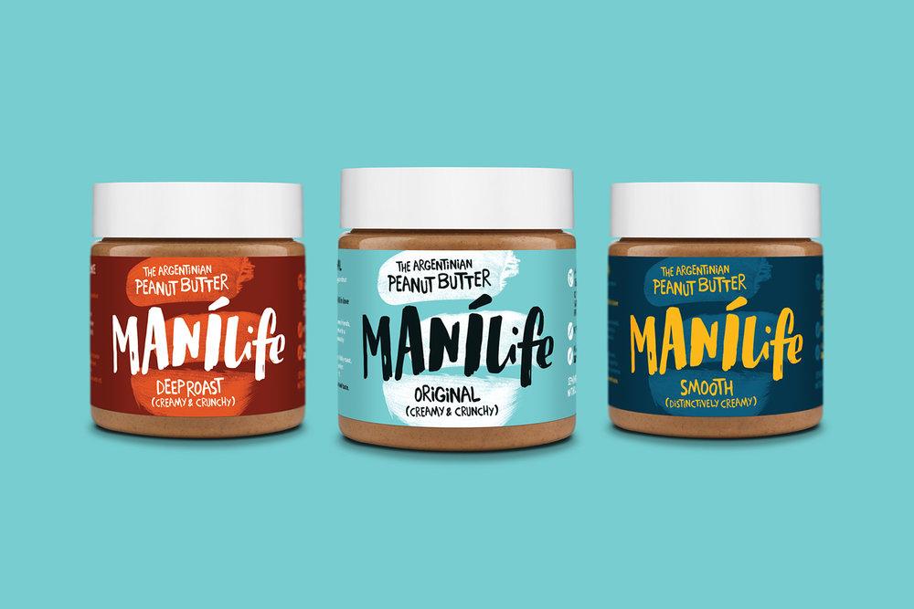 ManiLife Peanut Butter range
