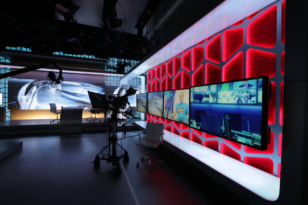 TV-9 HEADQUARTERS & STUDIO