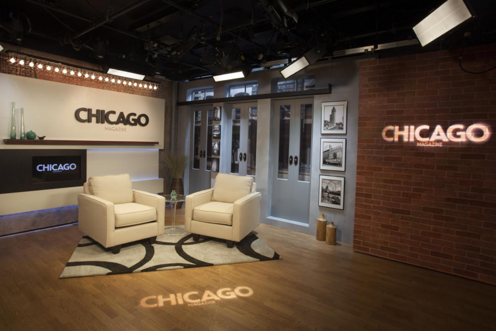 CHICAGO MAGAZINE + REDEYE WEBCAST STUDIO