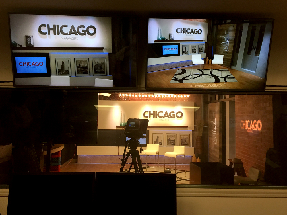 Chicago Magazine Broadcast Studio Design