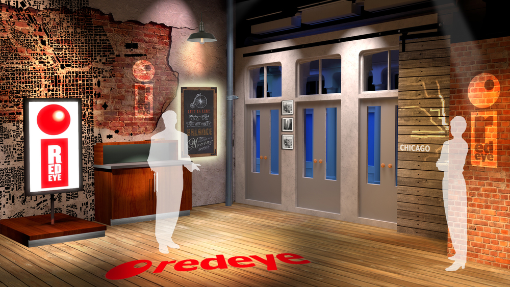 Red Eye Magazine Broadcast Studio Design