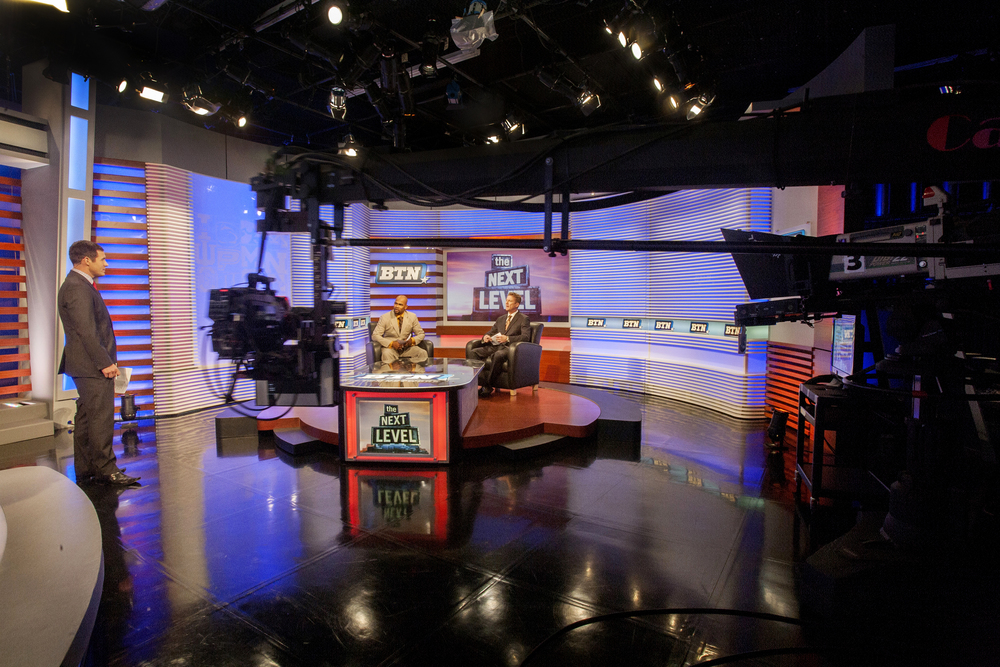 Big Ten Network Broadcast Studio Design