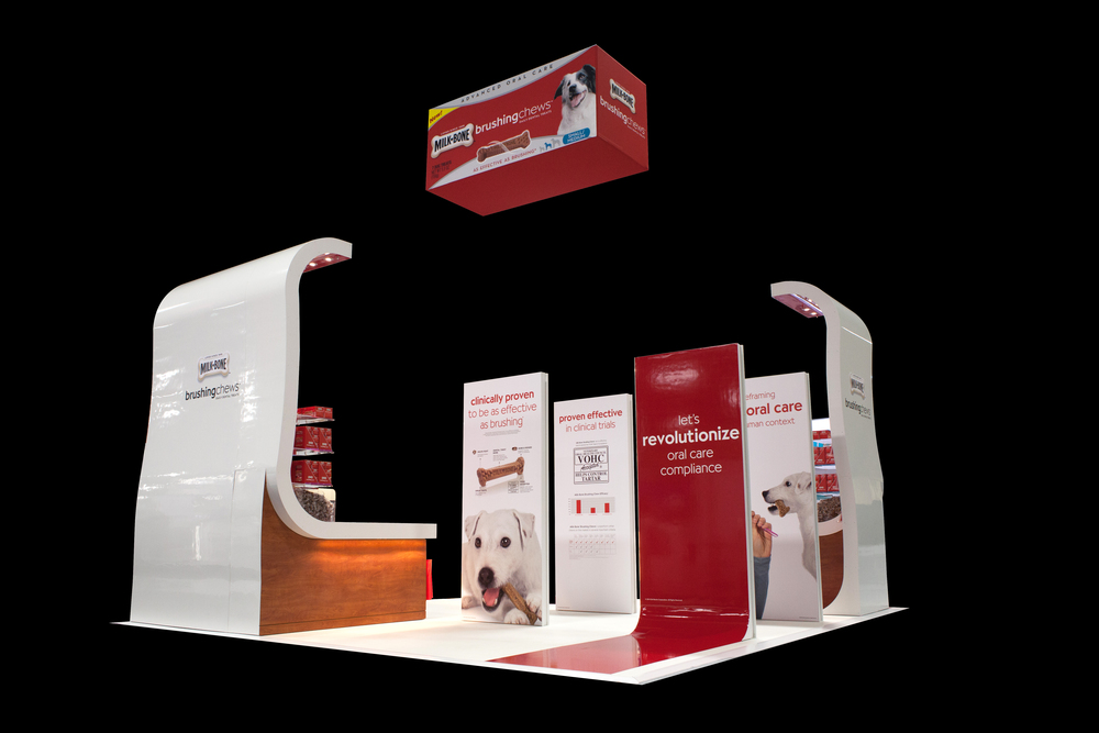 Milk-Bone Branded Tradeshow Event Design