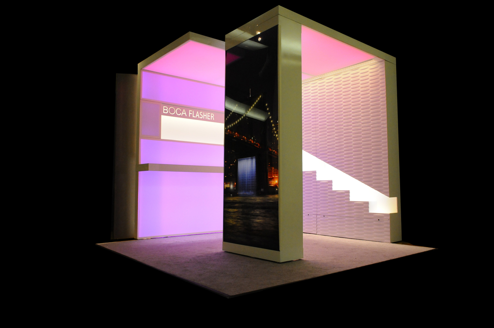 Boca Flasher Branded Tradeshow Event Design