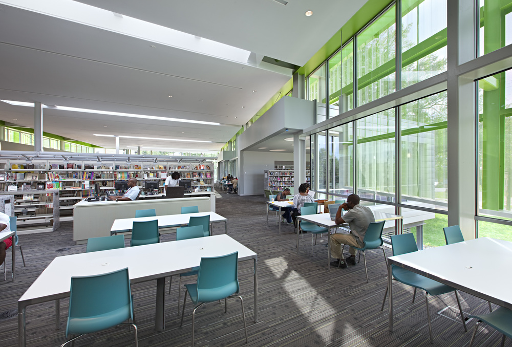 Anacostia Library Interior Environments Design