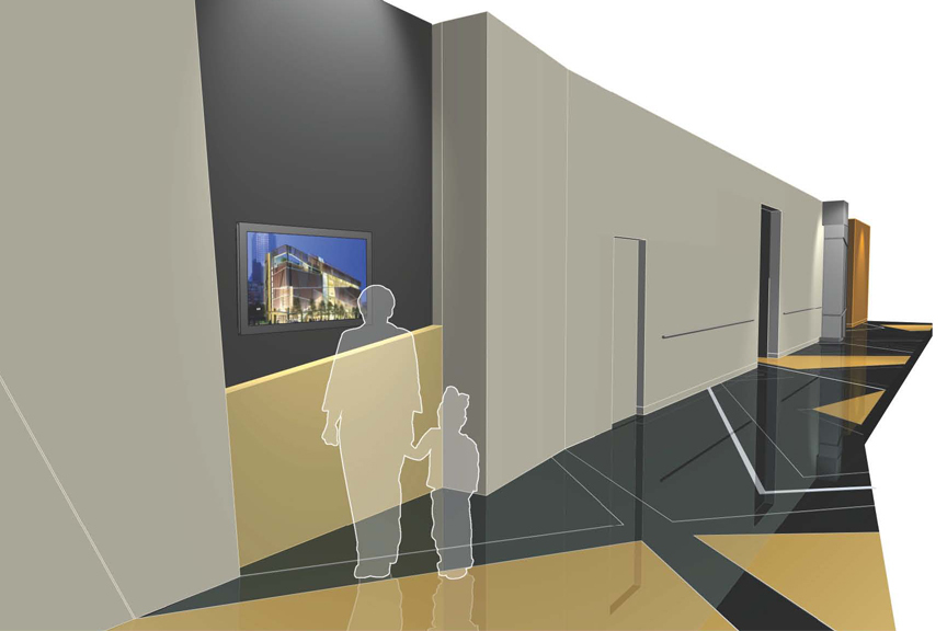 Gantt Cultural Center Interior Environments Design
