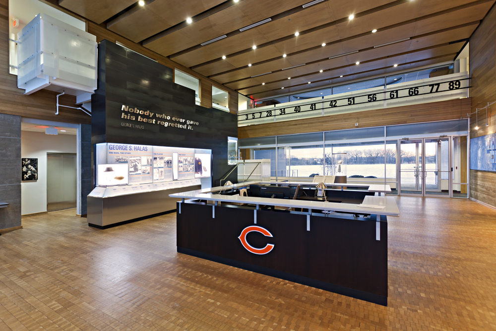 CHICAGO BEARS HEADQUARTERS