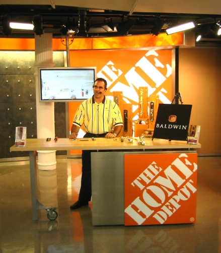 HOME DEPOT BRANDED DEMONSTRATION AREA