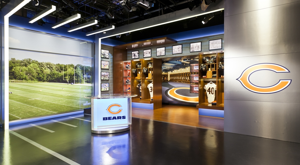 CHICAGO BEARS NETWORK STUDIO