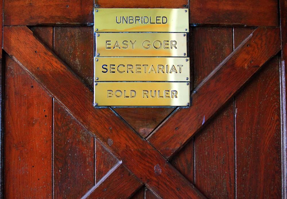 IMG_4352 - Secretariat's Stall Door @ Claiborne Farm.jpg