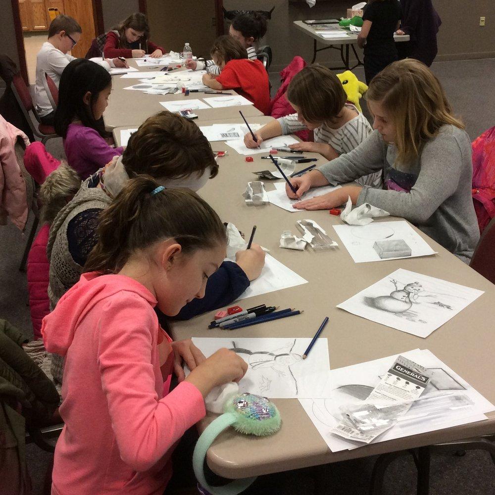 Elementary Art, 2017-18 session