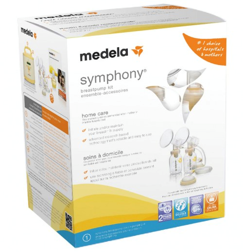 Medela Symphony Double Pumping Kit - The kit is essential for use with the Medela Symphony breast pump rental. It includes the 24mm breast shields and everything you need from storage to feeding.$80.00 plus GST