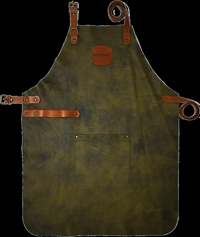 Olive-Leather-Bib-Apron-Full.png