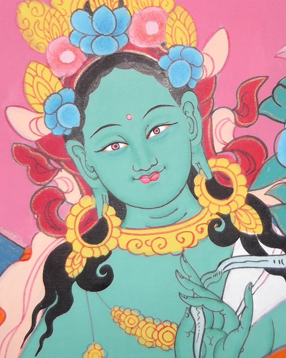 Green Tara.  Fearless Compassion.  Click photo to book your session.