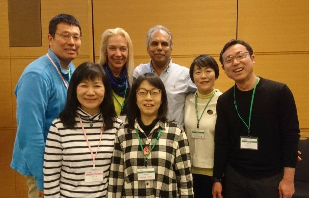 TTCRスタッフ全員とラジャ・セルバム博士