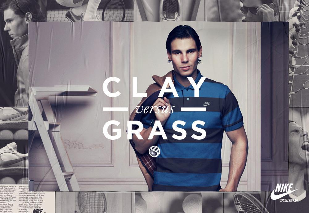 client Nike photographer Dusan Reljin athlete Rafa Nadal