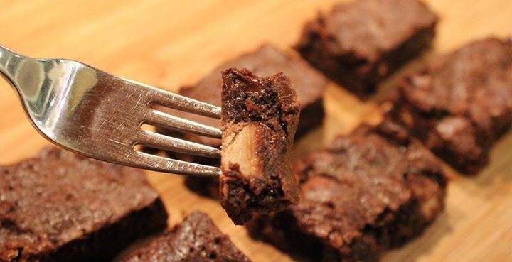 Gooey Malted Brownies