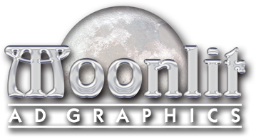 Moonlit Ad Graphics