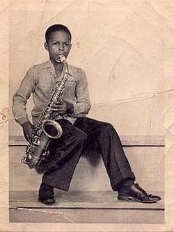 Albert Ayler aged 12
