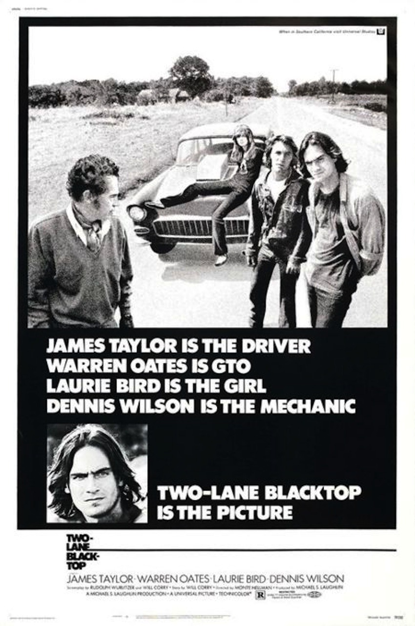 Two Lane Blacktop (1971 dir.   Monte Hellman )