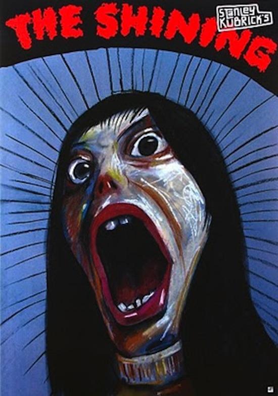 The Shining Polish film poster