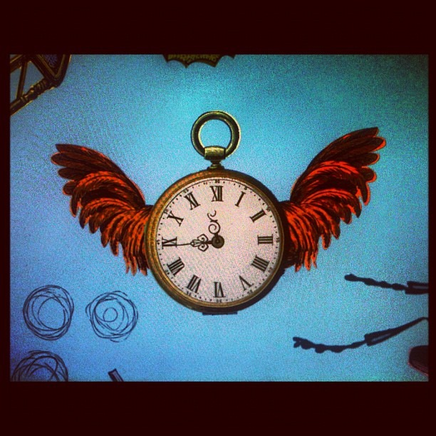 Time flies. (Taken with  Instagram )