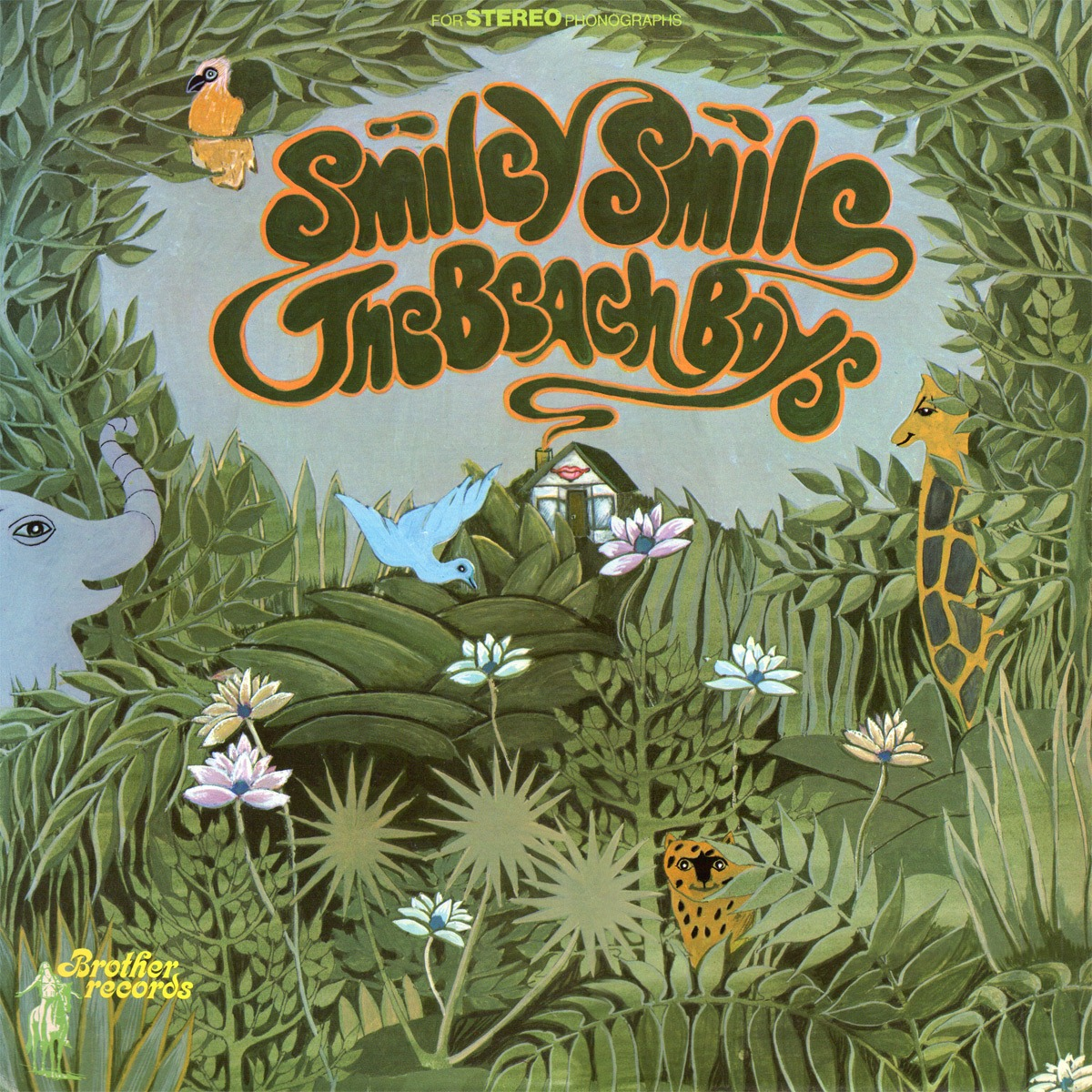 Beach Boys 'Smiley Smile' cover art