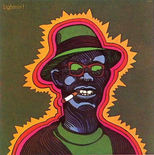 Milton Glaser    Lightnin' Hopkins