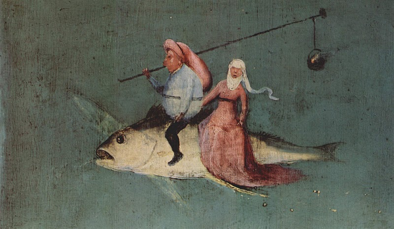 "Detail from ""The Temptation of St. Anthony"" by Hieronymous Bosch"