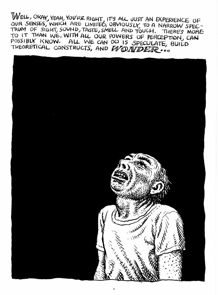 Harvey Pekar by Robert Crumb