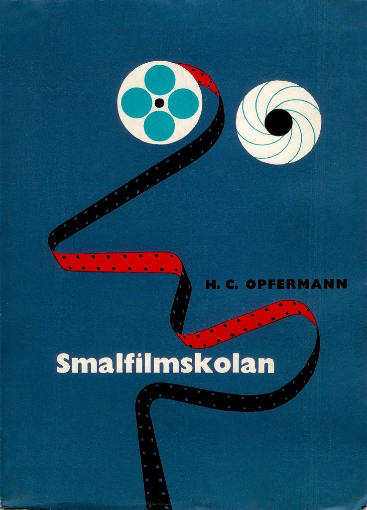 Cover by: Rolf Lagerson    'The School of Narrow Film'     Printed: 1955