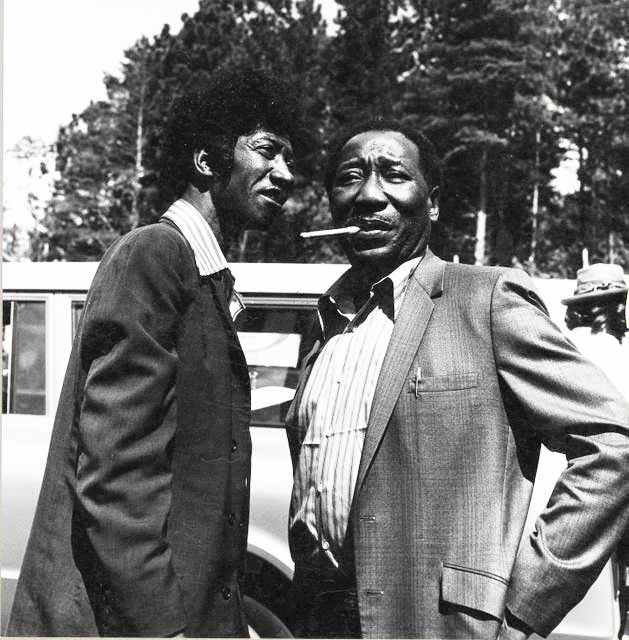 Muddy Waters and 'Hound Dog' Taylor 1972