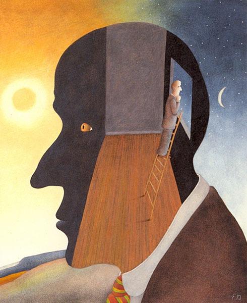 'Ambivalence' by Etienne Delessert  http://www.etiennedelessert.com/